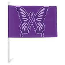 Lupus Awareness Car Flag Zazzle Com
