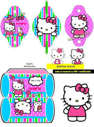 Kit Imprimible Invitaciones Hello Kitty 49 00 En Mercado Libre