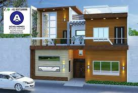 2 bhk modern home design india 800 sq