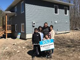 Jacobs family receives first-ever Habitat For Humanity home built at Curve  Lake First Nation   kawarthaNOW