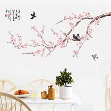 chinoiserie removable giant wall decals