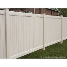 Bufftech New Lexington Vinyl Fence Panels Hoover Fence Co