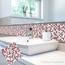 Self Adhesive Mosaic Tile Wall Decal Sticker Diy Kitchen Bathroom China Wall Stickers Suppliers Peel And Stick Tile 10 X 10 Fairy Wall Decals Fairy Wall Stickers From Brandsoffer 15 74 Dhgate Com