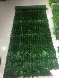 1m 3m Wall Artificial Ivy Leaf Hedge Screening Roll Garden Fence Balcony Privacy Ebay