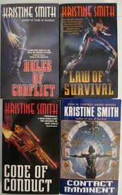 Kristine Smith lot of 4 books Rules Law Code Contact | eBay
