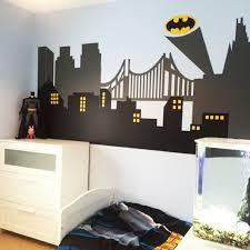 City Skyline Superhero Wall Decals Marvel Wall Decals Etsy