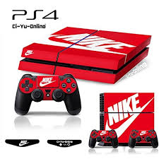 Ps4 Shoebox 2 Nike Logo Shoe Box Light Bar Whole Body Vinyl Skin Sticker Decal Cover For Ps4 Playstation 4 System Console And Controllers Wish
