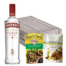 smirnoff red label vodka nibbles her