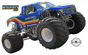 Bigfoot 4x4 Monster Truck Wall Decal 12 Inches Tall T5 Word Factory Design