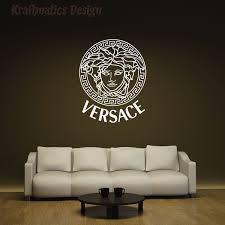 Versace Logo Wall Decal Vinyl Sticker Krafmatics