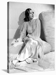 """Irene Dunne. """"Invitation To Happiness"""" [1939], Directed by Wesley Ruggles.'  Stretched Canvas Print - 