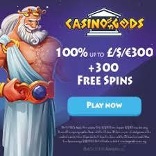 Casino Gods Review - 100% Up To €1.500 + 300 Free Spins Bonus