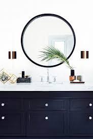 wall vanity mirror circle white