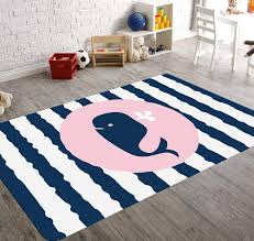 Set Sail Baby Whale Whale Rug Fish Rug Kids Rug Whale Decor Child Be Wild