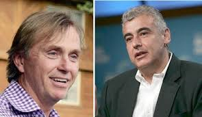 L-R) Wesley Edens, Marc Lasry/ Getty – Jewish Business News