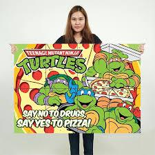 Teenage Mutant Ninja Turtles Block Giant Wall Art Poster