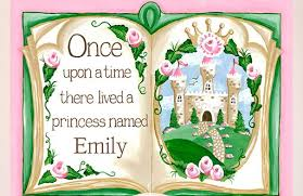 Greenbox Art Once Upon A Time Storybook Personalized By Sherri Blum Wall Decal Wayfair