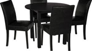 elmdon black circular dining table 4