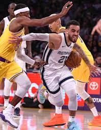 Memphis Grizzles vs LA Lakers Game ...