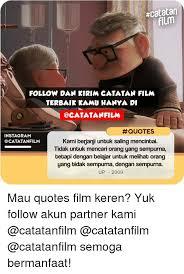 ncatatan film follow dan kirim catatan film terbaik kamu hanya di