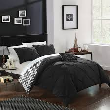 erin 4 piece reversible comforter bed