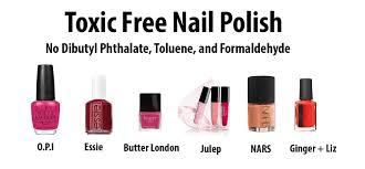 nail polish conn toxic chemicals