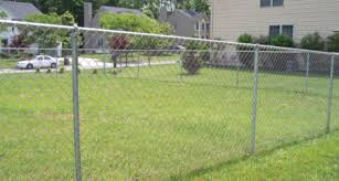 A Chainlink Fence Is The Economical Choice Long Fence