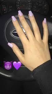 Pin by Aurelia Davidson on Nails | Lavender nails, Chic nails, Short  acrylic nails