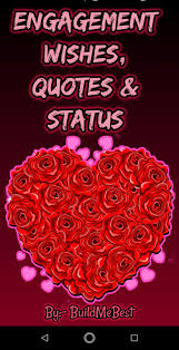 engagement wishes quotes greeting cards message for android