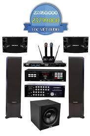 Combo dàn karaoke gia đình LVA-09 chất lượng cao, giá rẻ