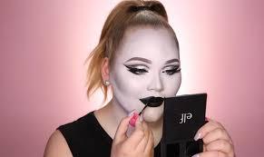 film noir makeup tutorial