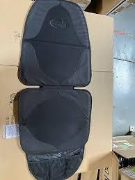 elite duomat car seat protector black