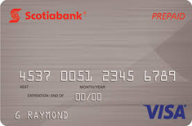 scotiabank secured credit card