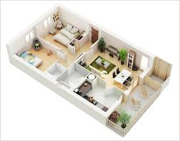 10 awesome two bedroom apartment 3d