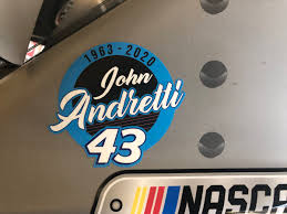 Bob Pockrass On Twitter John Andretti Memorial Decal On Rpm Car Of Bubba Wallace