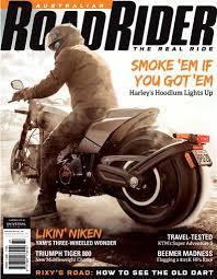 australian road rider magazine issue