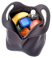 insulated neoprene lunch bag for men