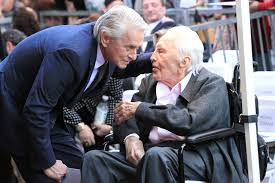 "Michael Douglas On Kirk Douglas: ""To The World He Was A Legend…To ..."