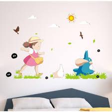 My Neighbor Totoro Wall Sticker Bedroom Dormitory Decorative Sticker 3d Wall Bathroom Decal Wish