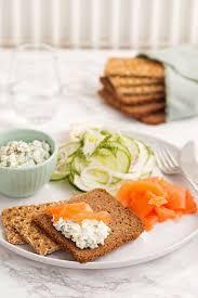 scandinavian platter smörgåsbord