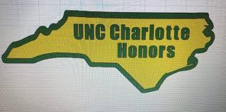 Unc Charlotte Honors College Vinyl Car Decal Sticker Etsy