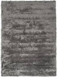 charcoal grey gray faux sheepskin
