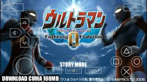 game ppsspp ultraman geed