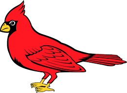 Signspecialist Com Mascots Decals Cardinal Team Mascot Color Vinyl Sports Sticker Personalize On Line Cardinal 1