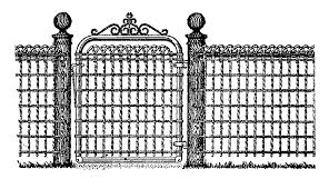Gate Clipart Fence Gate Gate Fence Gate Transparent Free For Download On Webstockreview 2020