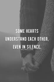 some hearts understand each other even in silence pictures photos