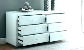 mirrored tall boy dresser chest drawers