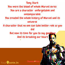 tony stark you were the quotes writings by shin chan