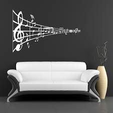 Music Symbol Wall Sticker Wall Decal Branches Family Wall Decals Vinyl Wall Art