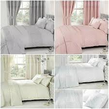 everdean embroidered duvet quilt cover